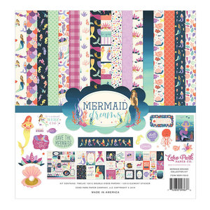 "Echo Park - 12""x12'' Collection Kit: Mermaid Dreams"