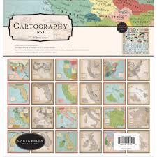 Carta Bella - Collection Kit: Cartography No.1