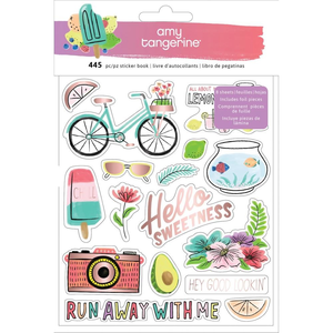American Crafts - Amy Tangerine - Sticker Book: Stay Sweet