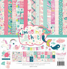 """Echo Park - 12""""x12'' Collection Kit: Imagine That! Girl"""